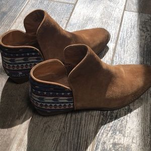 Sbicca RARE Women's Cira Ankle Booties In Size 10